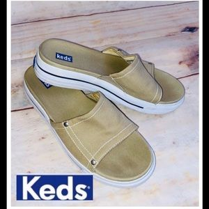 KEDS Slide on Sandals sz 7.5
